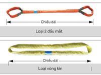 Cáp vải bản tròn Eastern Hàn Quốc